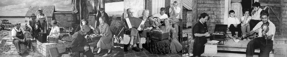 Collage of Historic Nova Scotian Life