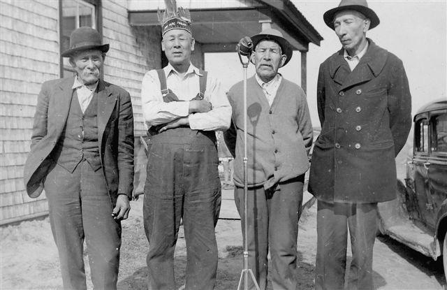 Mi'kmaq singers, Shubenacadie 1948